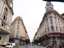 Avenida de Mayo, Buenos Aires. Stock Photography