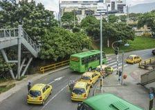 Avenida de Medellin Colômbia imagem de stock