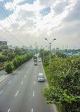 Avenida de Medellin Colômbia foto de stock