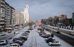 Avenida de Molokova Imagens de Stock Royalty Free