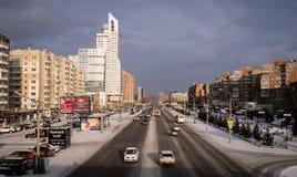 Avenida de Molokova Fotografia de Stock Royalty Free