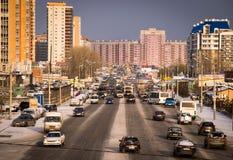 Avenida de Molokova Foto de Stock Royalty Free