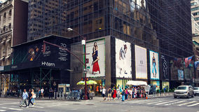 Avenida de New York á Imagem de Stock Royalty Free