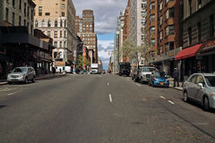 Avenida de parque New York fotos de stock