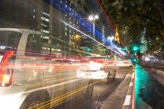 Avenida de Paulista fotografia de stock