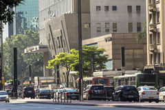 Avenida de Paulista Imagen de archivo