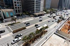 Avenida de Paulista - Brasil Imagem de Stock Royalty Free
