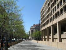 Avenida de Pensilvânia, Washington DC - Imagem conservada em estoque foto de stock royalty free