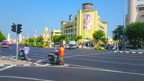 Avenida de Ratchadamnoen, Banguecoque, Tailândia filme