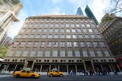 Avenida de Saks quinta, Manhattan, New York City Imagens de Stock Royalty Free