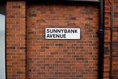 Avenida de Sunnybank Imágenes de archivo libres de regalías