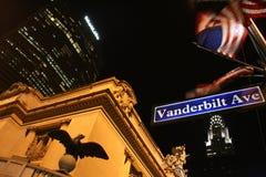 Avenida de Vanderbilt Fotografía de archivo libre de regalías
