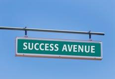 Avenida del éxito Foto de archivo libre de regalías
