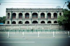 Avenida del norte del dongsi Pekín foto de archivo