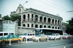 Avenida del norte del dongsi Pekín Foto de archivo libre de regalías