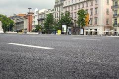 Avenida del siglo de la escena de la calle Foto de archivo libre de regalías
