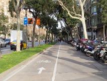 Avenida Diagonal Barcelona Stock Image