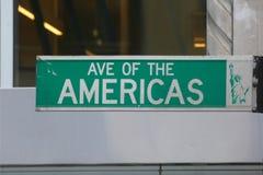 Avenida dos Americas imagens de stock