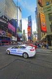 7a avenida e 44os rua e Broadway ocidentais Fotografia de Stock Royalty Free