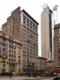 5a avenida e 34a rua Foto de Stock Royalty Free