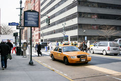 9a avenida em Manhattan Foto de Stock