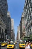 Avenida em New York City foto de stock
