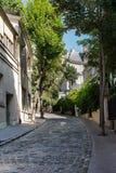 Avenida Frochot imagens de stock royalty free