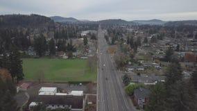 182 avenida Gresham Oregon almacen de metraje de vídeo