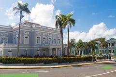 Avenida Luis Muñoz Rivera, oud San Juan, Puerto Rico royalty-vrije stock foto's