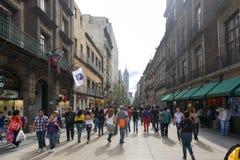 Avenida Madero em Cidade do México foto de stock royalty free
