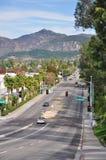 Avenida magnífica Imagen de archivo