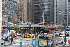 8a avenida, New York Fotografia de Stock Royalty Free
