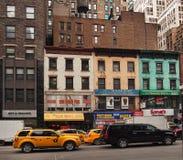 6a avenida, New York City Imagens de Stock