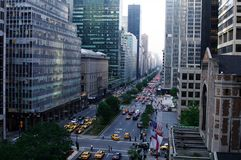 5a avenida New York City, New York Imagem de Stock