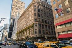 Avenida New York City da cena da rua 5a Foto de Stock
