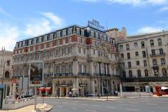Avenida Palace Hotel, Restauradores Square, Lisbon Stock Photos