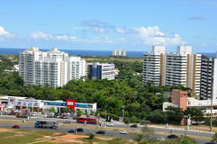 Avenida Paralela royalty free stock image