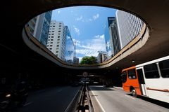 Avenida Paulista Stock Photography