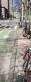 9a avenida Pista da bicicleta Imagens de Stock