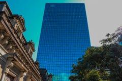 Avenida Sao Paulo del Brasil Paulista imagen de archivo libre de regalías