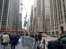 6a avenida, sexta avenida, Midtown, Manhattan, NYC, NY, EUA Foto de Stock