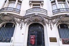 Avenida Sisli de Halaskargazi, Istambul Fotografia de Stock