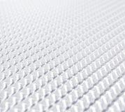 Avenir blanc géométrique de fond Images stock