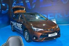 avensis Toyota Fotografia Stock