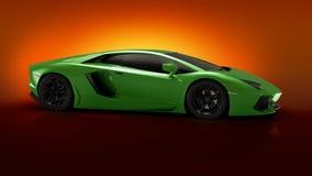 Aventador van Lamborghini Royalty-vrije Stock Afbeelding