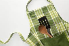 Avental da cozinha Fotografia de Stock