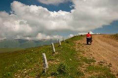 Aventura da bicicleta Imagens de Stock