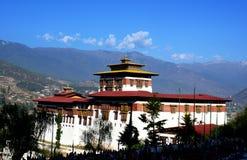 Aventura de Butão imagens de stock royalty free