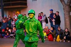 Aventura de Califórnia da parada de Disney Pixar Foto de Stock