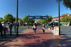 Aventura de Disneylândia da entrada Foto de Stock Royalty Free